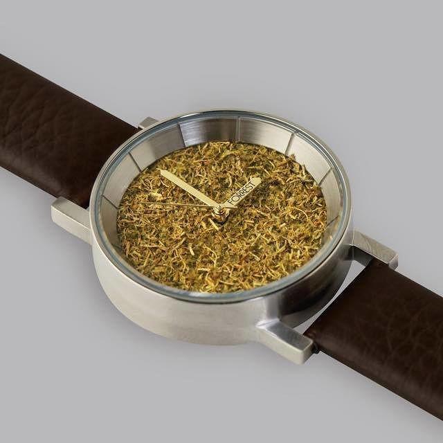 【送料無料】 森の腕時計 Silver Forrest メンズ ...