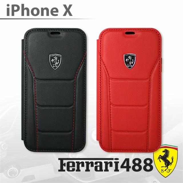 フェラーリ・公式ライセンス品 iPhoneXケース 手...