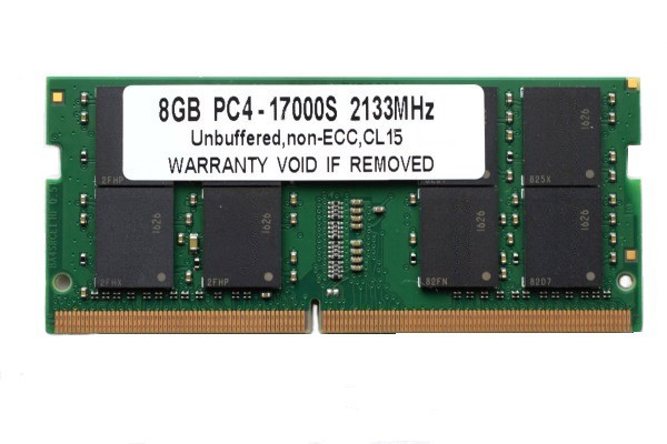 SODIMM 8GB PC4-17000 DDR4 2133 260pin CL15 PC...