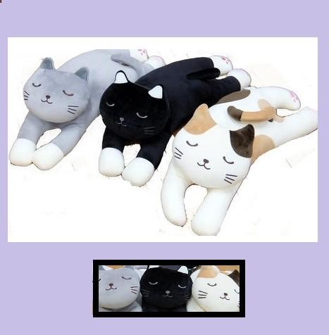 抱き枕マシュマロタッチの3匹のネコ