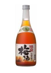 12% 瑞泉 沖縄黒糖使用梅酒720ml