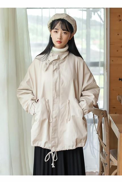 襟元デザインがポイント☆ ガーリーなジャケット ...