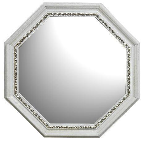 【イタリア製】クラシックデザイン壁掛け8角形ミ...