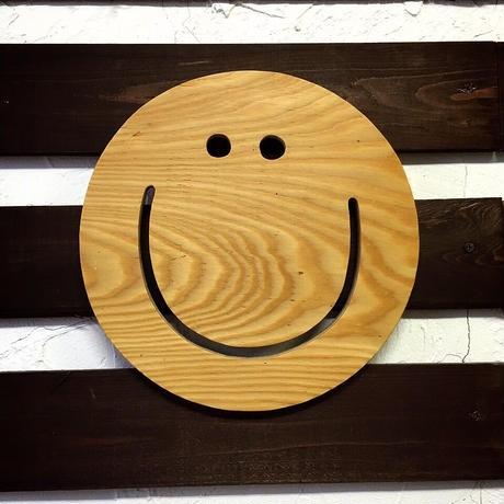 nico wood plate スマイル ハンドメイド  [ seash...