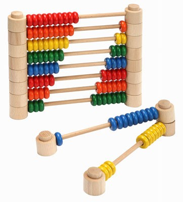 【送料無料】 UKK 木製知育玩具 M0802 数 カウン...