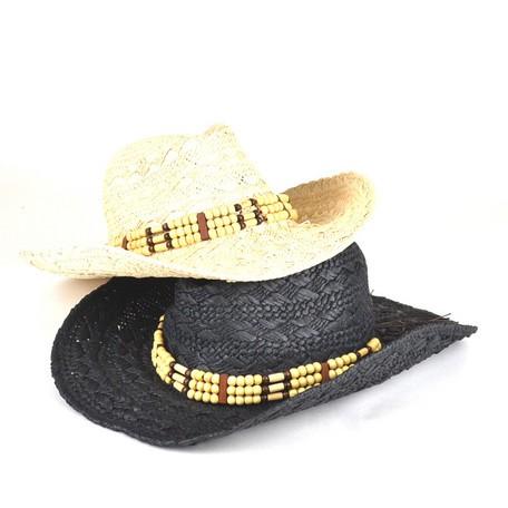 【帽子 キャップ】男女兼用◆ビーズ帯 ペーパー ...