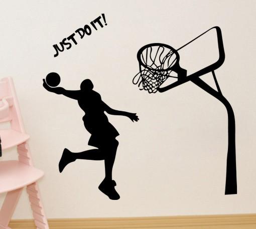 送料無料 ウォールステッカー バスケットボール ...