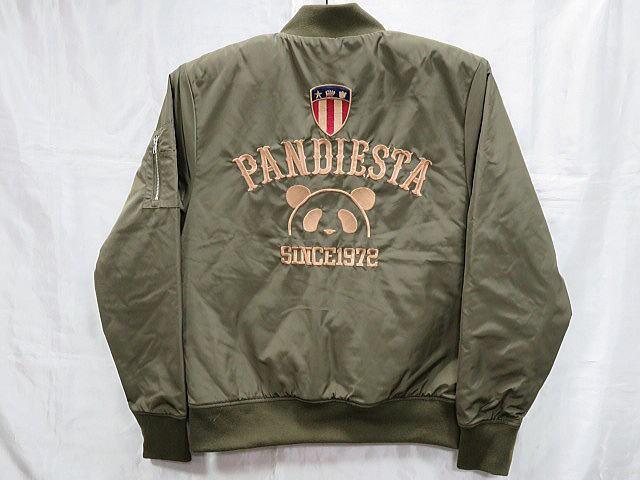 PANDIESTA JAPAN 総刺繍 MA-1ジャケット パンデ...