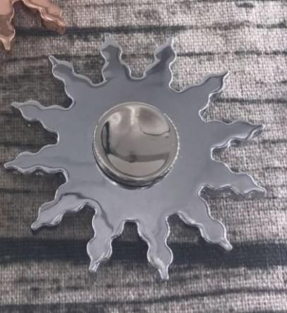 新品 ゆうメール送料無料 合金メッキFidget Spin...