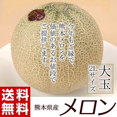 《送料無料》熊本県産 メロン(赤肉or青肉:アン...