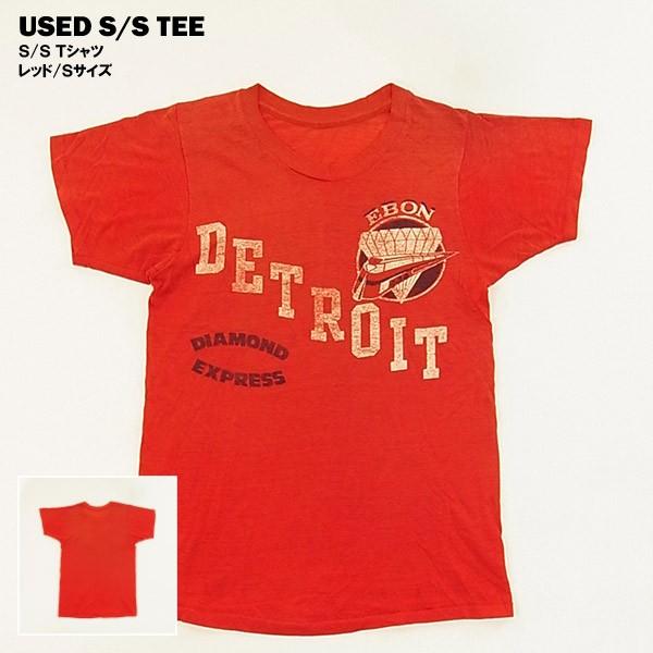 USED S/S Tシャツ レッド/Sサイズ