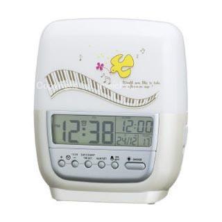 インテリア 時計 すやすや おやすみ 置き時計 ミ...