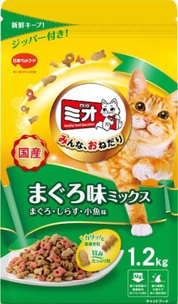 【日本ペット】ミオドライミックス まぐろ味 1...
