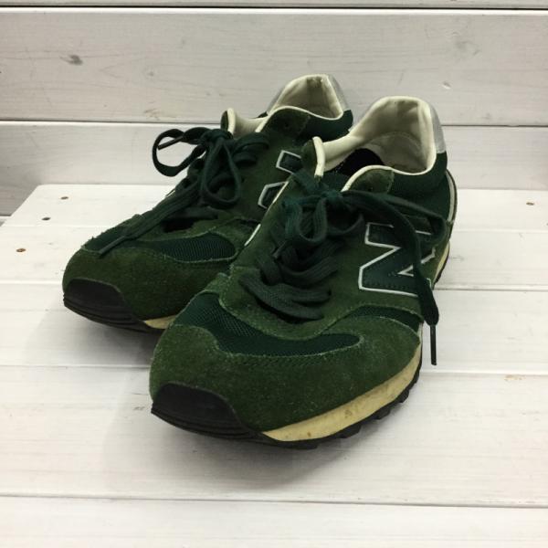 ニューバランス スニーカー 靴 0082100774142 緑 ...