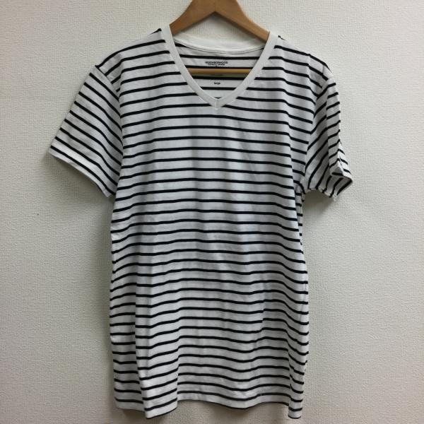 ネイバーフッド 半袖 Tシャツ ボーダー Vネック 2...