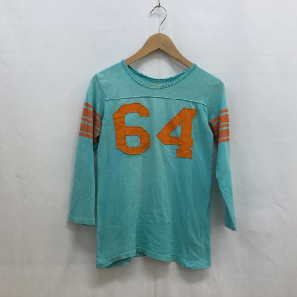 デニム&ダンガリー 長袖Tシャツ 322607 水色 / ...