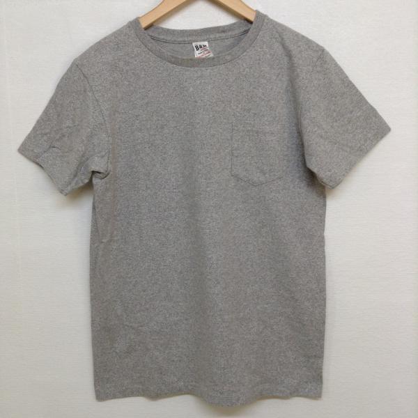 ビーアンドエイチ Tシャツ 022314 灰色 / グレー ...