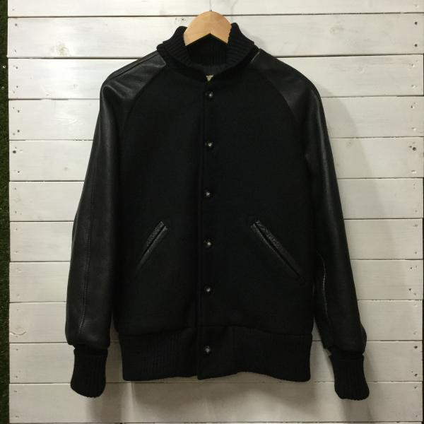 スクーカム AWARD/STUDIUM JACKET MELTON×LEAT...