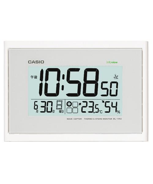 CASIO[カシオ計算機]クロック 電波壁掛け時計 デ...