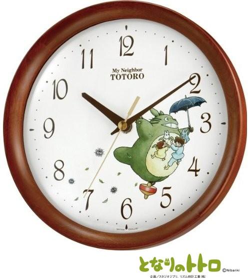 リズム時計工業 となりのトトロM27 8MGA27RH06 ト...