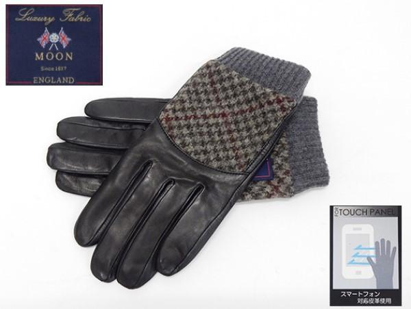 ◆手袋◆MOON×羊革 スマートフォン対応皮革 グ...