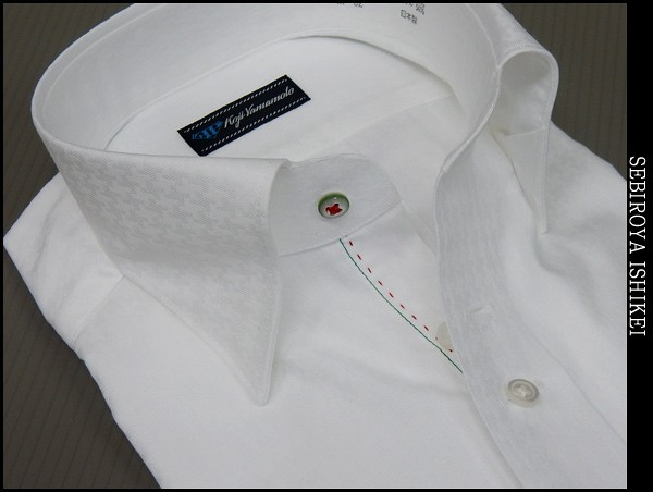 FP KOJI YAMAMOTO ワイシャツ 隠しボタンダウン...