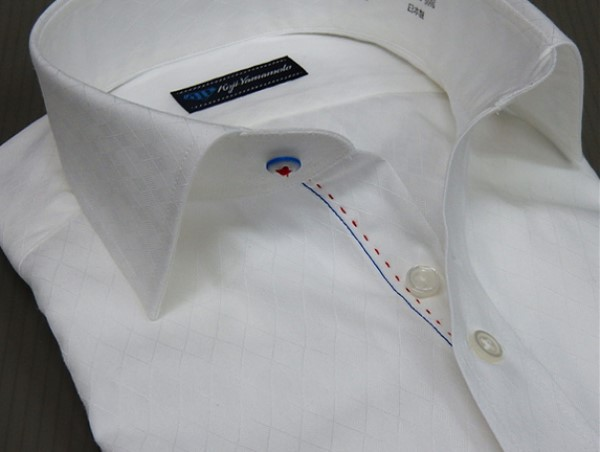 FP KOJI YAMAMOTO ワイシャツ セミショートカラ...