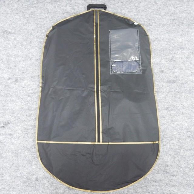 ◆テーラーバッグ◆ガーメントバッグ◆黒/無地◆...