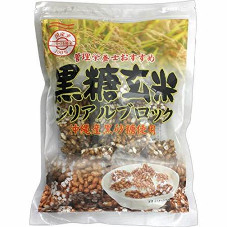 管理栄養士おすすめ 黒糖玄米シリアルブロック 12...