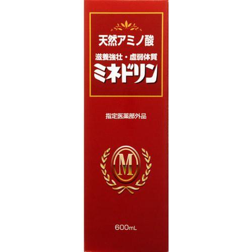 【指定医薬部外品】ミネドリン 600mL【6本セット...