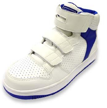 安全靴 ミドルカット N6020 白×ブルー イエテン ...