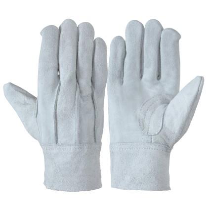 作業革手袋 皮手袋 牛床革手袋 背縫い 12双組 107...