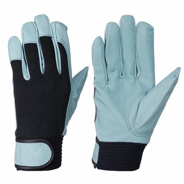 豚革手袋 シモン PL-127 豚オイル 作業手袋
