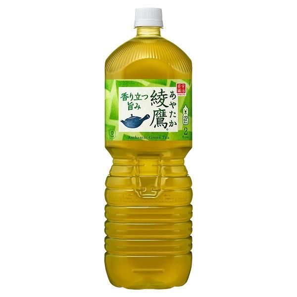 コカ・コーラ 綾鷹 ペコらくボトル2LPET 6本入×1...