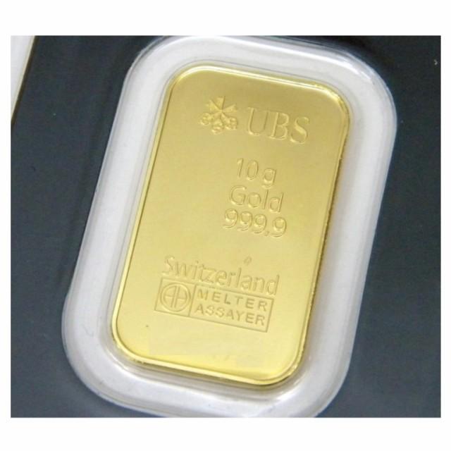 UBS 純金 インゴット 10g ゴールドバー 2...