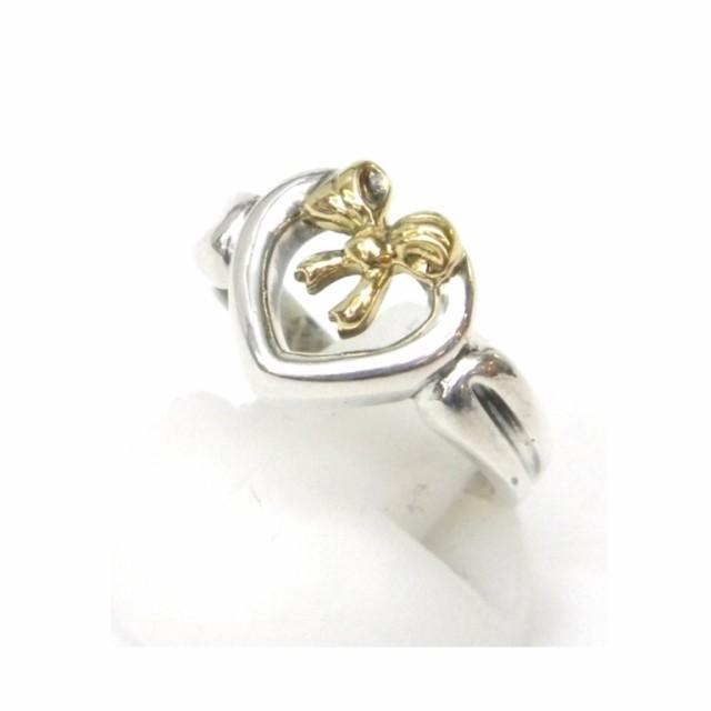 ティファニー TIFFANY&Co. 指輪 リボン ハート ...