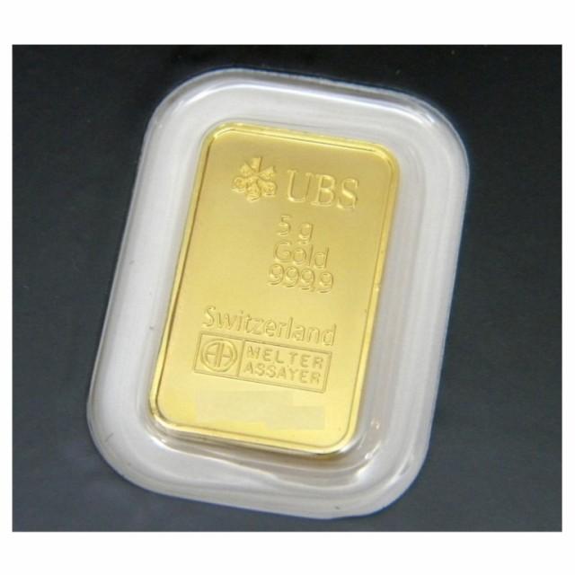 UBS 純金 インゴット 5g ゴールドバー 24金 k24 ...