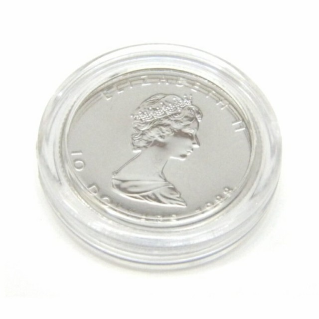 プラチナメイプルリーフコイン 1/4オンス 198...