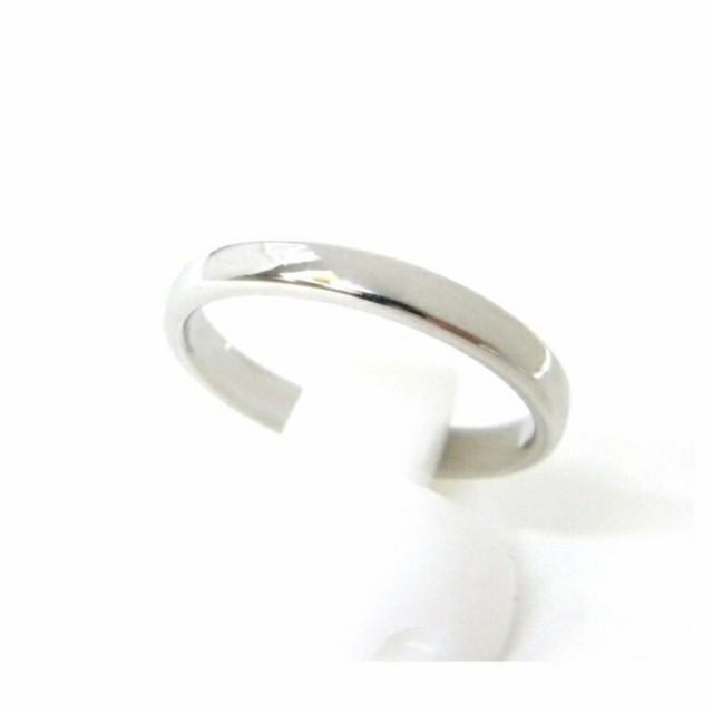 ティファニー 指輪 バンドリング /プラチ...