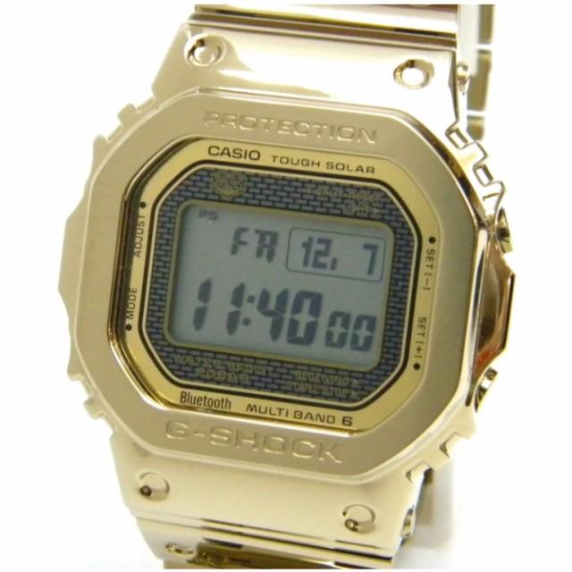カシオ G-SHOCK GMW-B5000TFG-9JR ゴールド ...