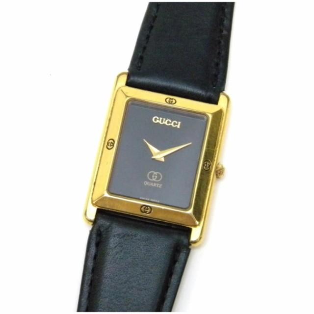 グッチ 腕時計 クオーツ ベルト社外品 4000M ...