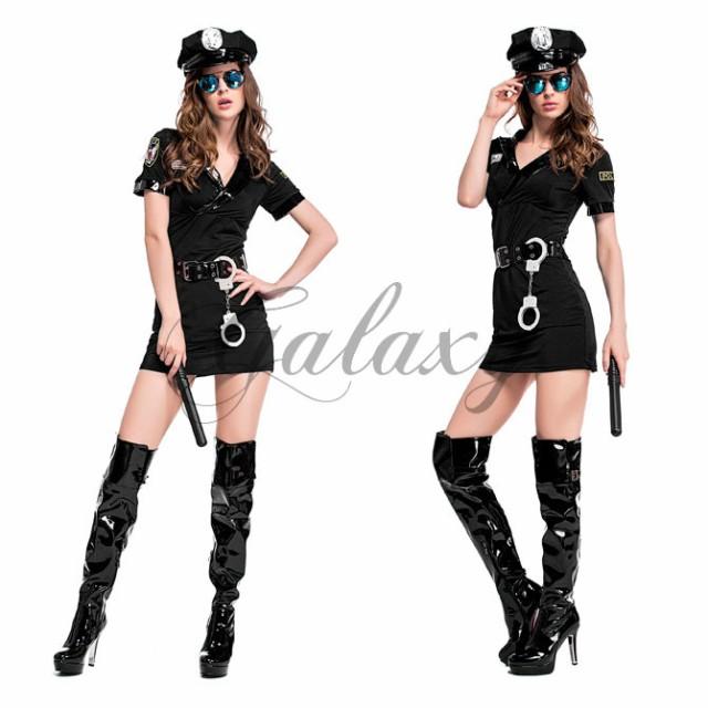 ハロウィン 警官 警察 婦人警官 ポリス 教官 訓練...