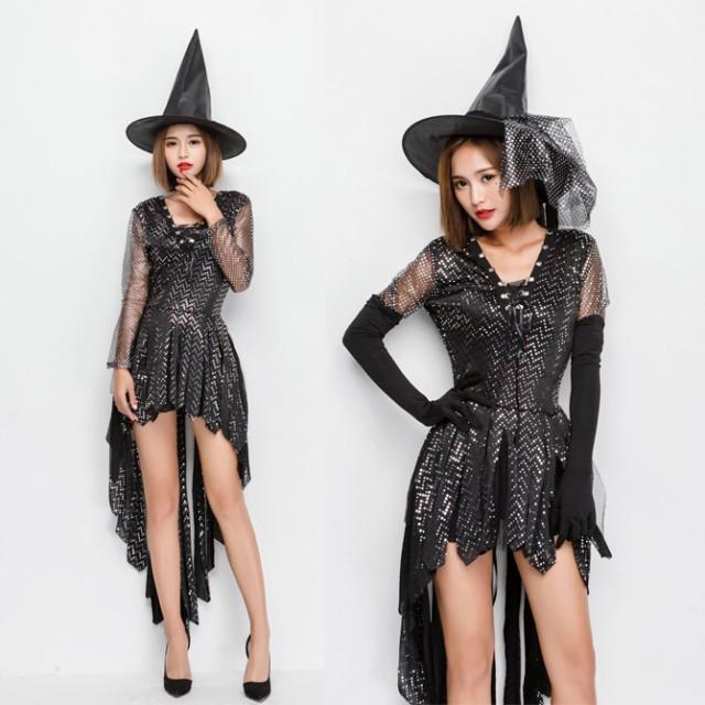 ハロウィン 魔女デビル 小悪魔 魔法使い ウィッチ...