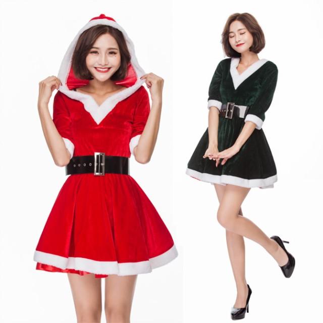 クリスマス サンタ XMAS サンタクロース 2色 可愛...