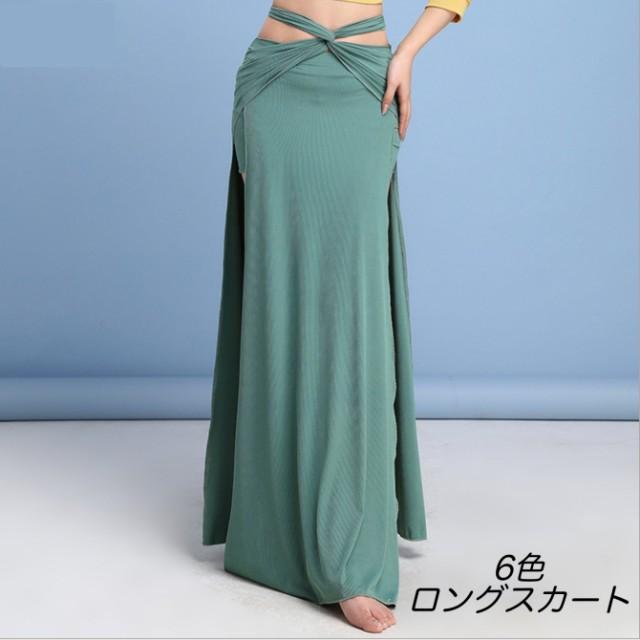 ベリーダンス 社交ダンス モダンダンス 6色 M-XL ...