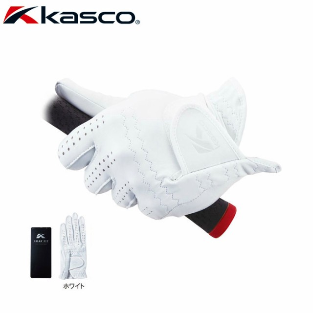 Kasco キャスコ シルキーフィット ゴルフグローブ...
