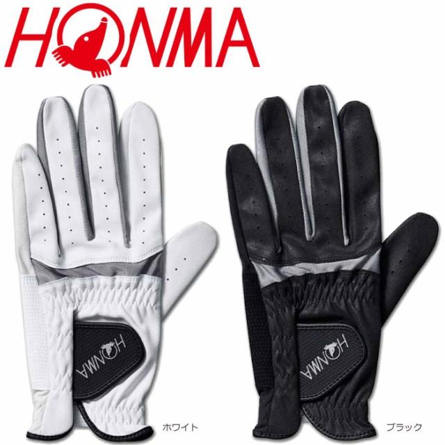 HONMA 本間ゴルフ GV-12005 人工皮革 D1グローブ ...