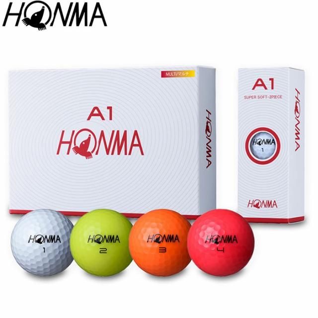 HONMA A1 BALL 本間ゴルフ A1 ボール 1ダース