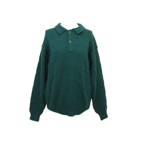 72cd76a41aa4 CROCODILE「M」cable knit sweater クロコダイル 襟付きケーブルニットセーター (ポロシャツ)  063413【中古】の通販はWowma!(ワウマ) - JIMU|商品ロットナンバー: ...