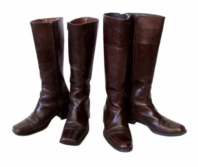 BARCLAY バークレー「23」ロングレザーブーツ (靴...